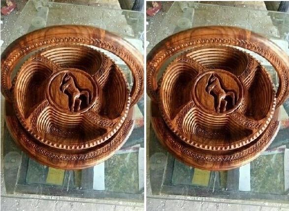 Thú vị với mẫu khay gỗ xếp hình độc đáo từ Pakistan(2)