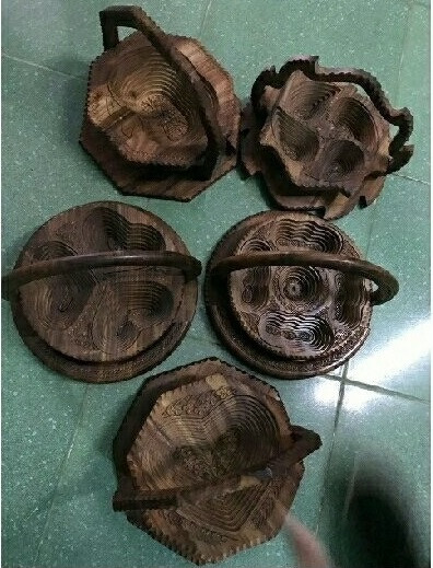 Thú vị với mẫu khay gỗ xếp hình độc đáo từ Pakistan(3)
