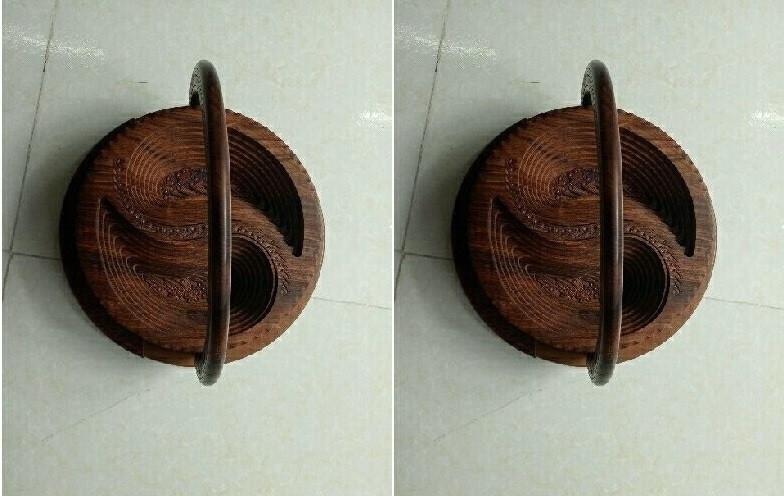 Thú vị với mẫu khay gỗ xếp hình độc đáo từ Pakistan