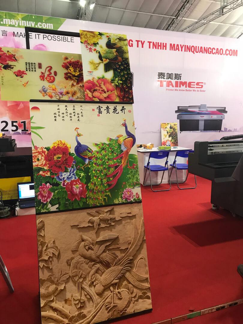 Gian hàng của công ty MayInQuangCao.com - Máy in UV tại Triển lãm Quốc tế Vietbuild TPHCM lần 1 năm 2018 (7)