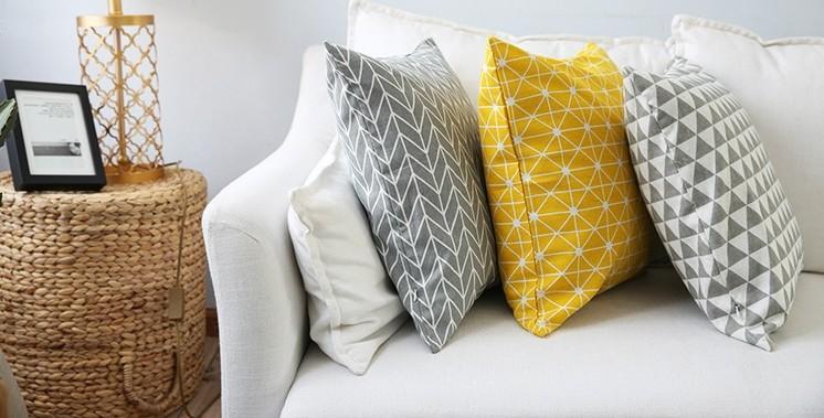 Gối tựa lưng Aura trang trí cùng sofa thêm phần sang trọng hiện đại(1)