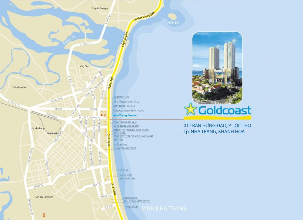 Tìm hiểu tổng quan dự án căn hộ Gold Coast Nha Trang đẳng cấp 5 sao