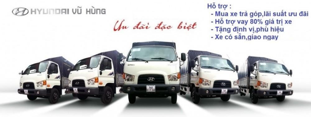 Thủ tục mua xe tải trả góp đơn giản nhất chỉ có tại Hyundai Vũ Hùng