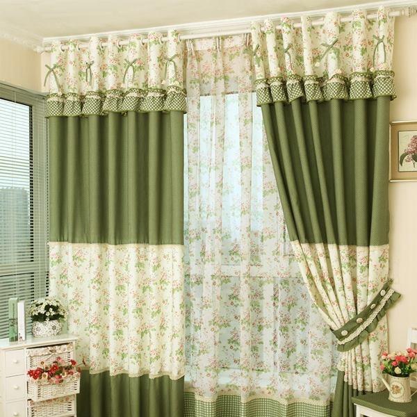 Vải rèm cửa theo phong thủy không quá dày