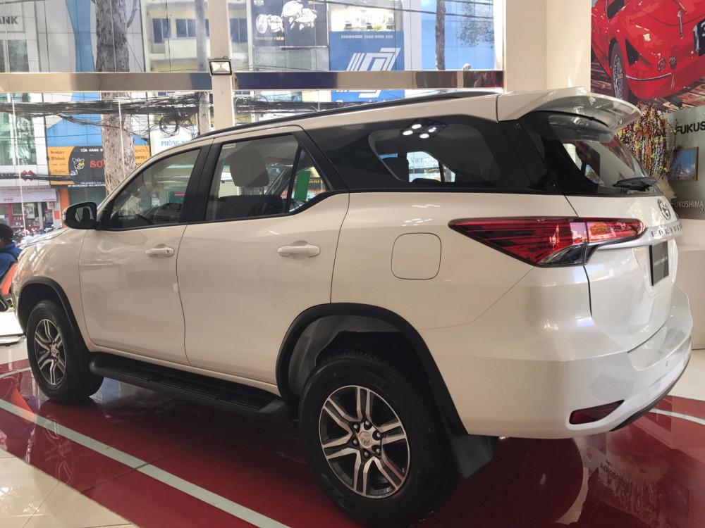 Báo giá xe Toyota Fortuner 2018