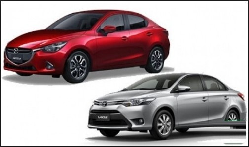 Bạn Nên Chọn Toyota Vios 2017 hay Mazda 2