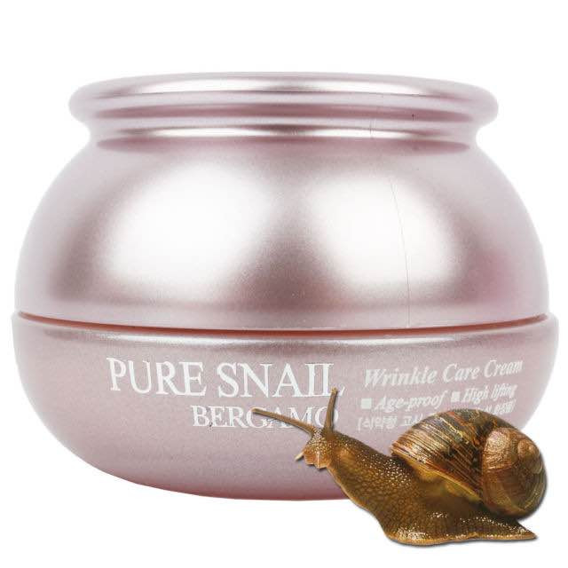 Kem dưỡng da chống nhăn Bergamo Pure Snail Wrinkle Cream