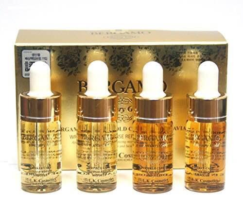 Sử dụng tinh chất nâng cơ BERGAMO 24K Gold Brilliant Essence để yêu thương làn da của mình các bạn nhé!