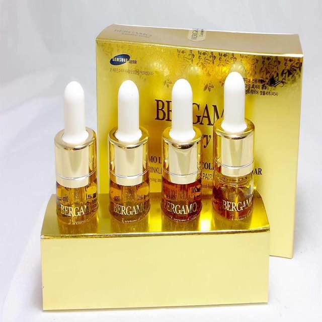 Sử dụng tinh chất nâng cơ BERGAMO 24K Gold Brilliant Essence để yêu thương làn da của mình các bạn nhé!(3)