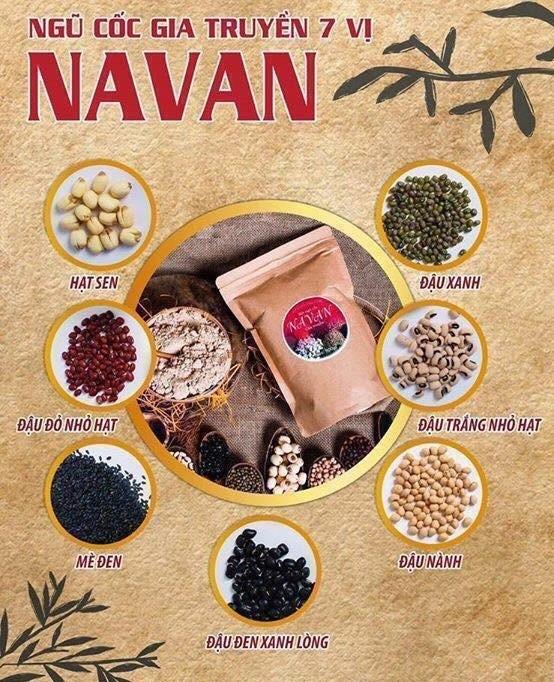 Lý do chọn mua bột ngũ cốc 7 vị NAVAN