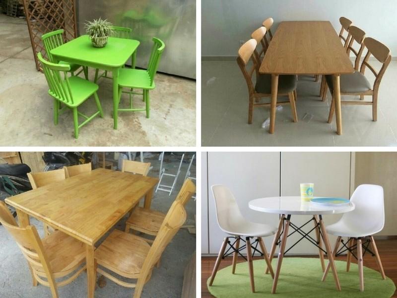 Có nên mua bàn ghế gỗ cafe thanh lý?