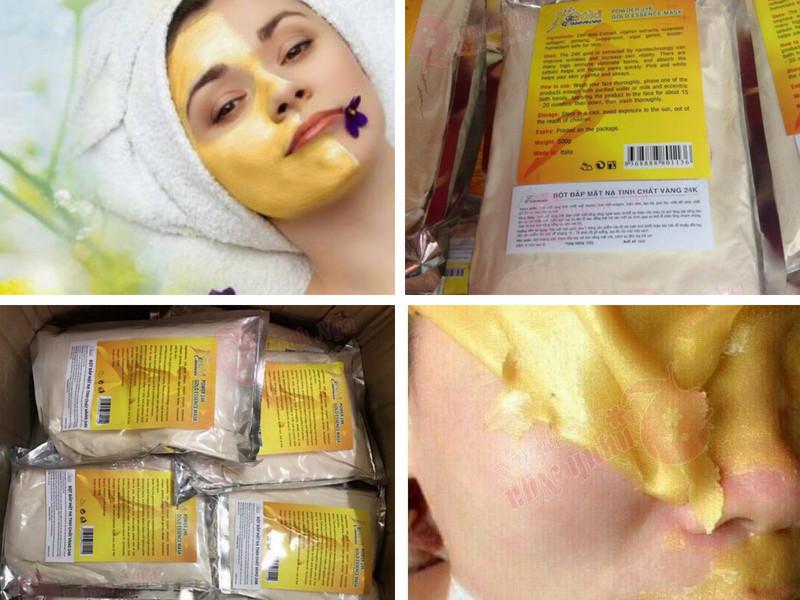 Cách sử dụng mặt nạ collagen vàng