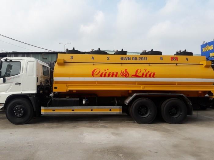 Giá xe tải Hino bồn xăng 19 khối(1)