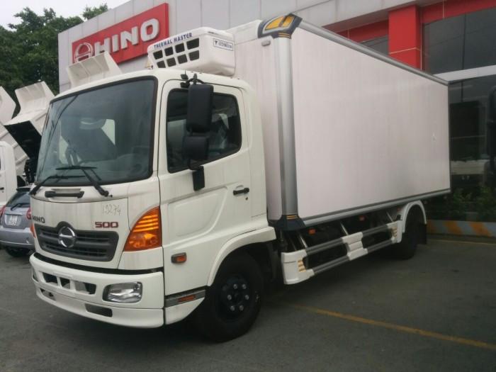 Xe tải thùng đông lạnh Hino