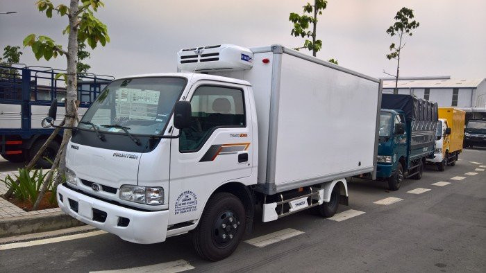 Xe tải thùng đông lạnh KIA