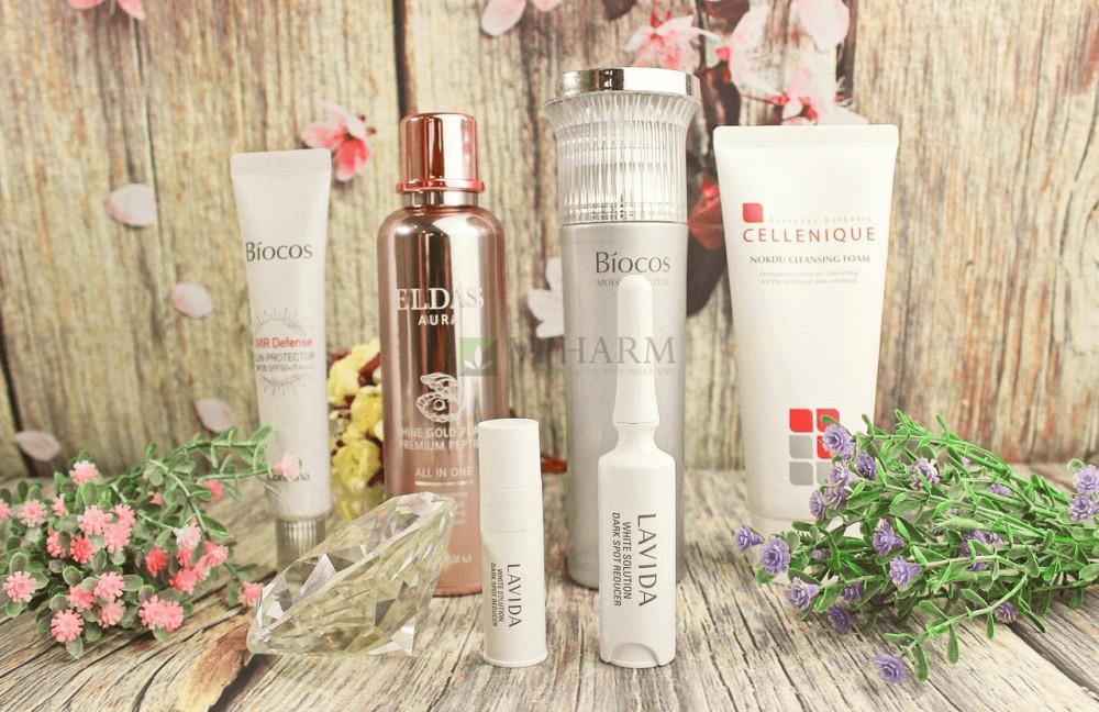 Mỹ phẩm Coreana Lavida White Solution Darkspot Reducer