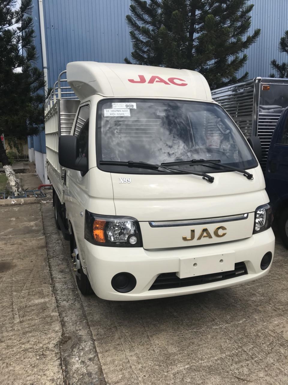 Giới thiệu dòng xe mới – JAC 990kg, Euro 4