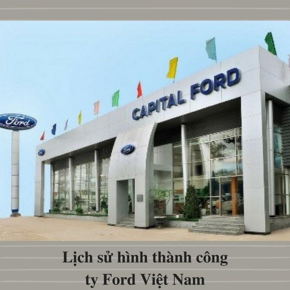 Lịch sử hình thành công ty Ford Việt Nam