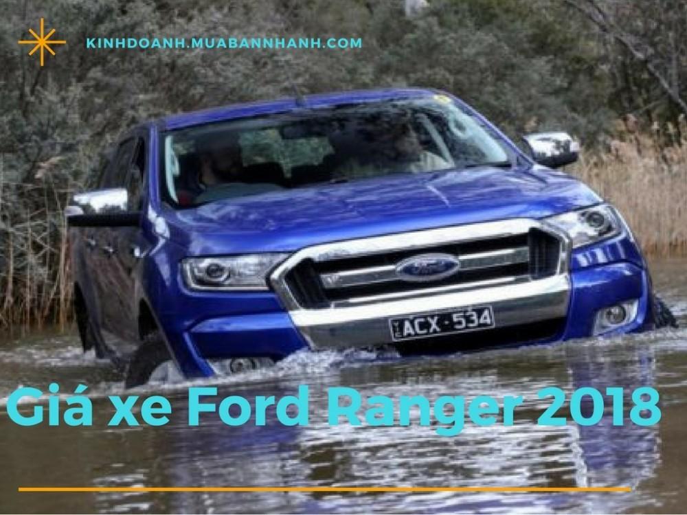 Giá xe Ford Ranger 2018
