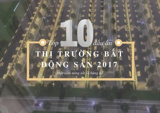 Top 10 dấu ấn của thị trường bất động sản năm 2017