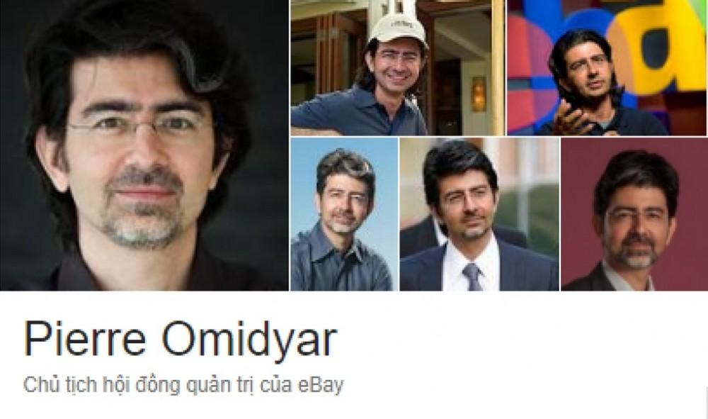 Pierre Omidyar - Vua đấu giá, ông trùm của eBay