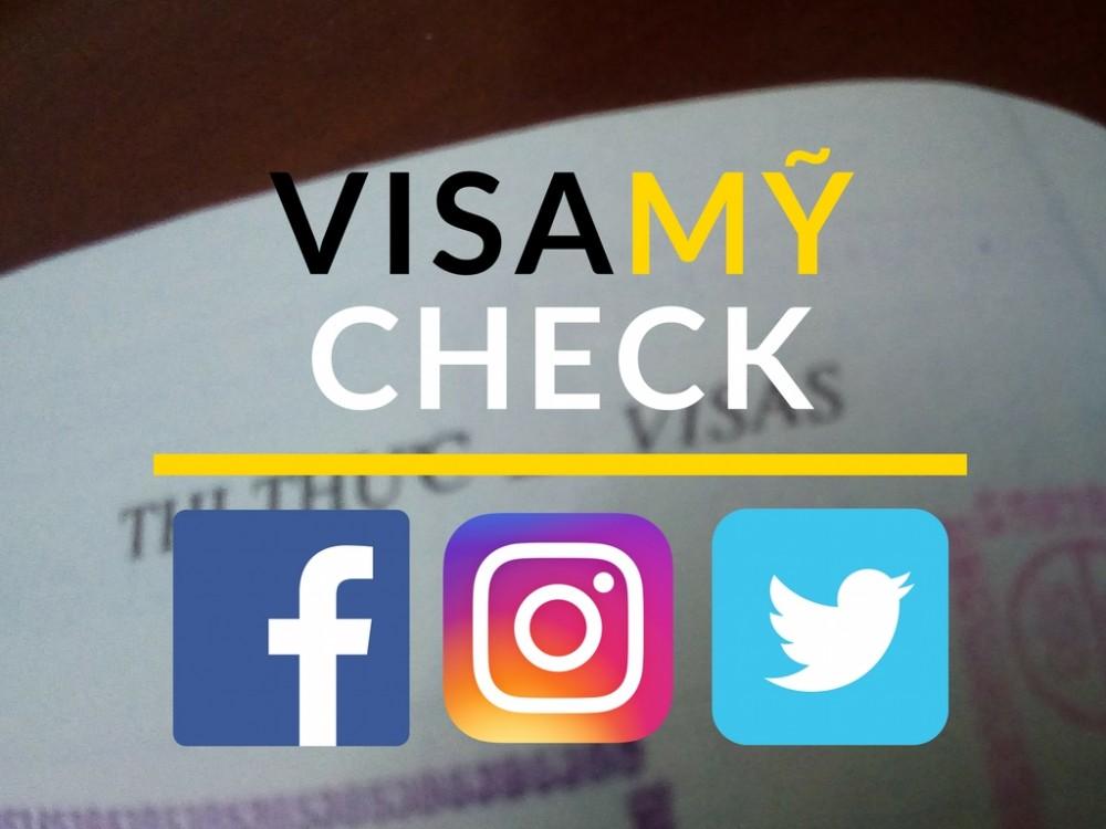 Muốn xin visa Mỹ, bạn phải khai lịch sử dùng mạng xã hội trong 5 năm cho Facebook, Twitter hoặc Instagram