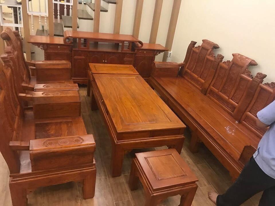 Kinh nghiệm chọn mua bàn ghế gỗ cho phòng khách