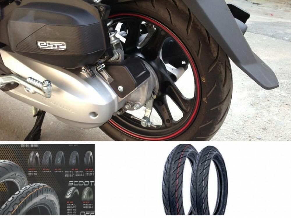 Một vài kinh nghiệm về lốp xe máy tốt nhất bạn cần biết