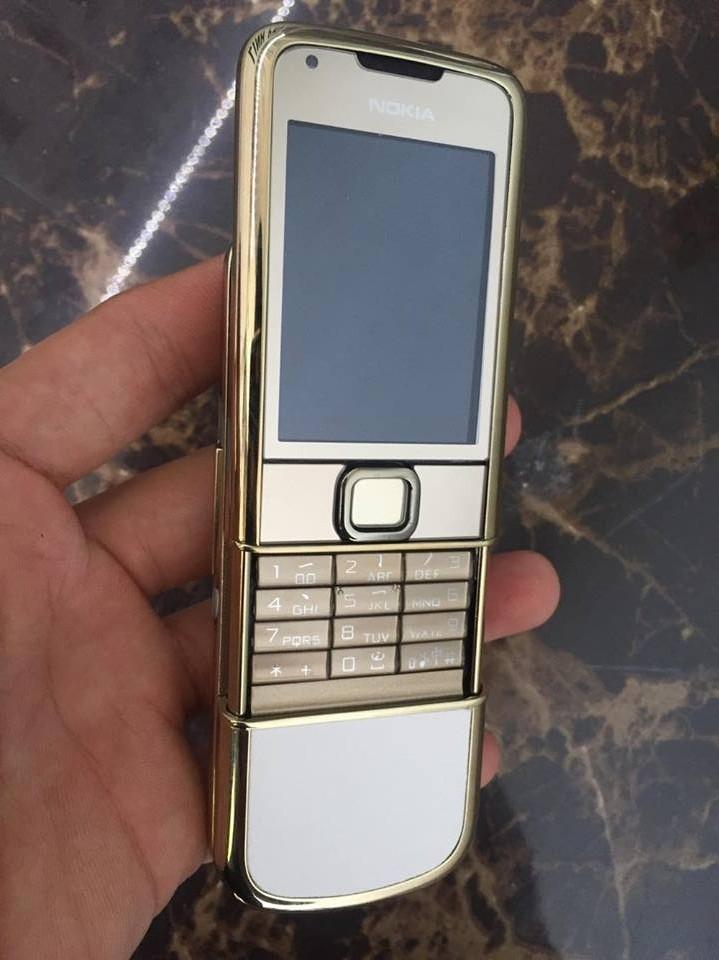 Đánh giá điện thoại Nokia 8800 Gold  Arte