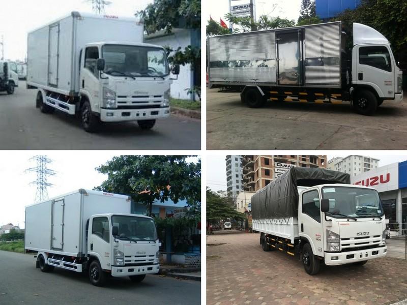 Báo giá xe tải Isuzu 5.5 tấn -  xe tải nặng chất lượng ưu việt