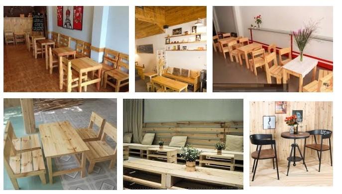 Bí quyết chọn mua bàn ghế gỗ cho quán cà phê