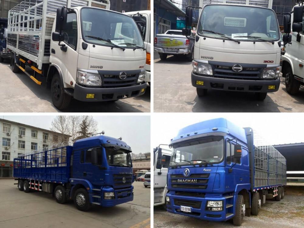 Hỏi nên mua xe tải Shacman hay xe tải Hino?