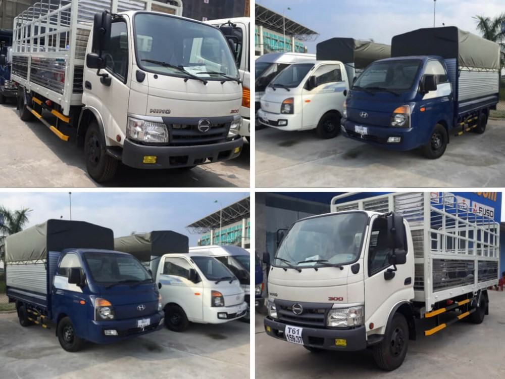 Nên chọn xe tải Hino hay xe tải Hyundai?