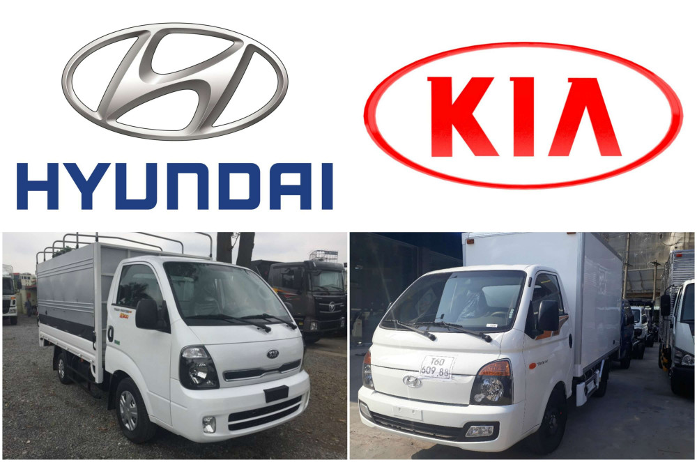 Mua xe tải 1T5 chọn xe tải Hyundai hay xe tải Kia