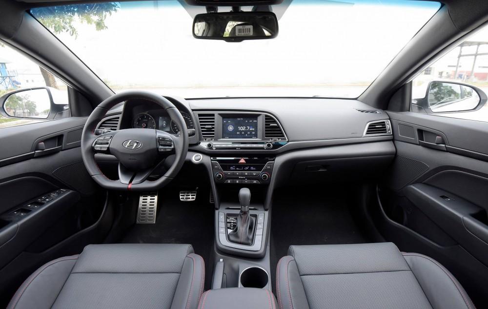 Hyundai Elantra Sport 2018 có gì mới ?(3)