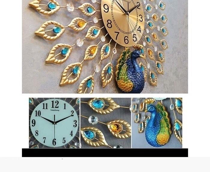 Cách chọn đồng hồ treo tường trang trí phòng khách đẹp(5)