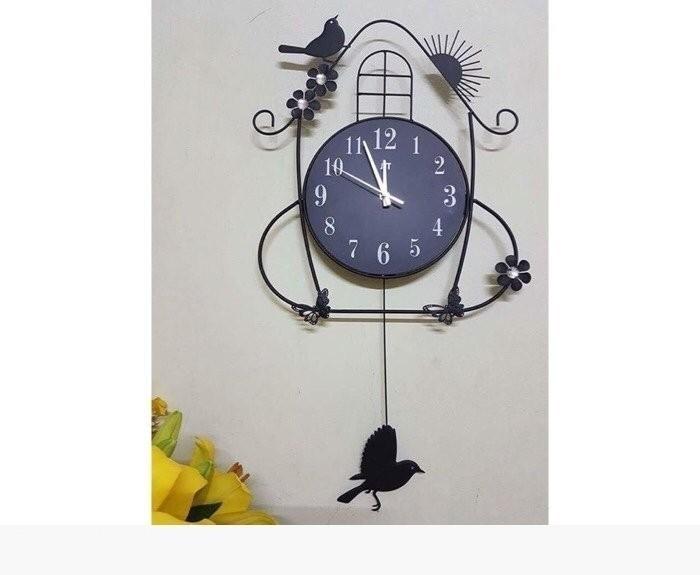 Bí quyết chọn đồng hồ treo tường trang trí nội thất cho từng không gian nhà bạn(4)