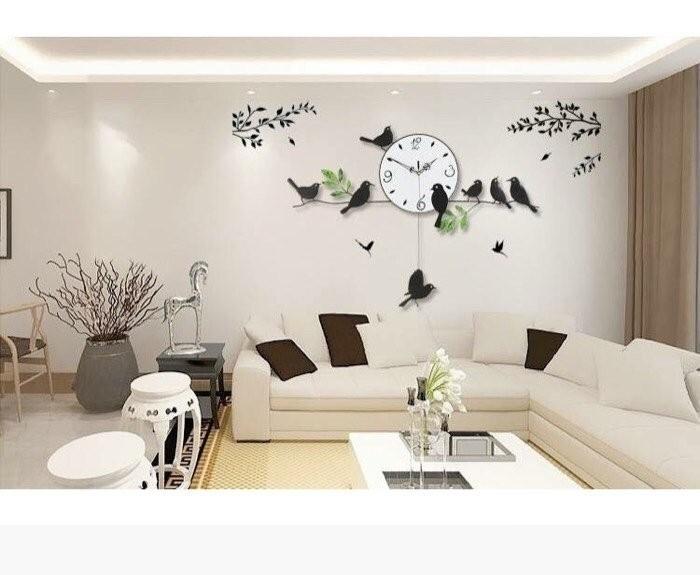 Bí quyết chọn đồng hồ treo tường trang trí nội thất cho từng không gian nhà bạn(6)