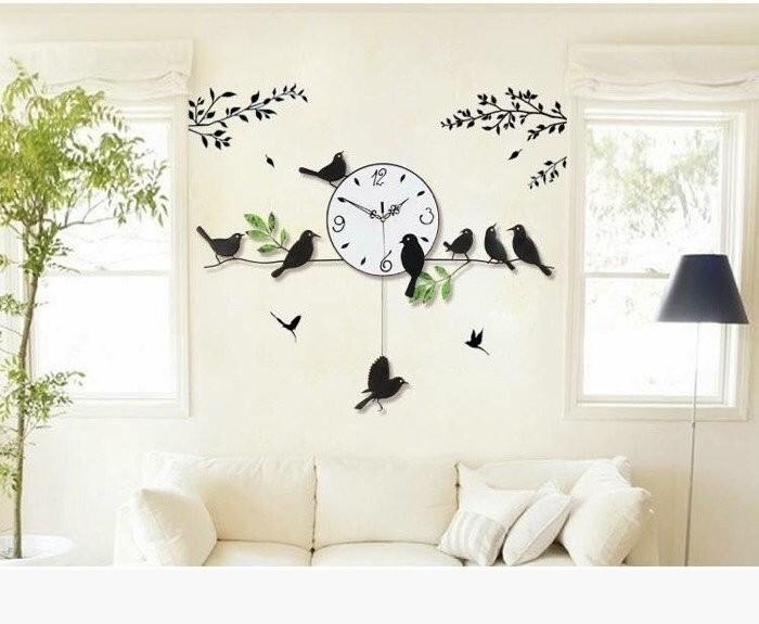 2. Bí quyết chọn đồng hồ treo tường trang trí nội thất cho từng không gian nhà bạn