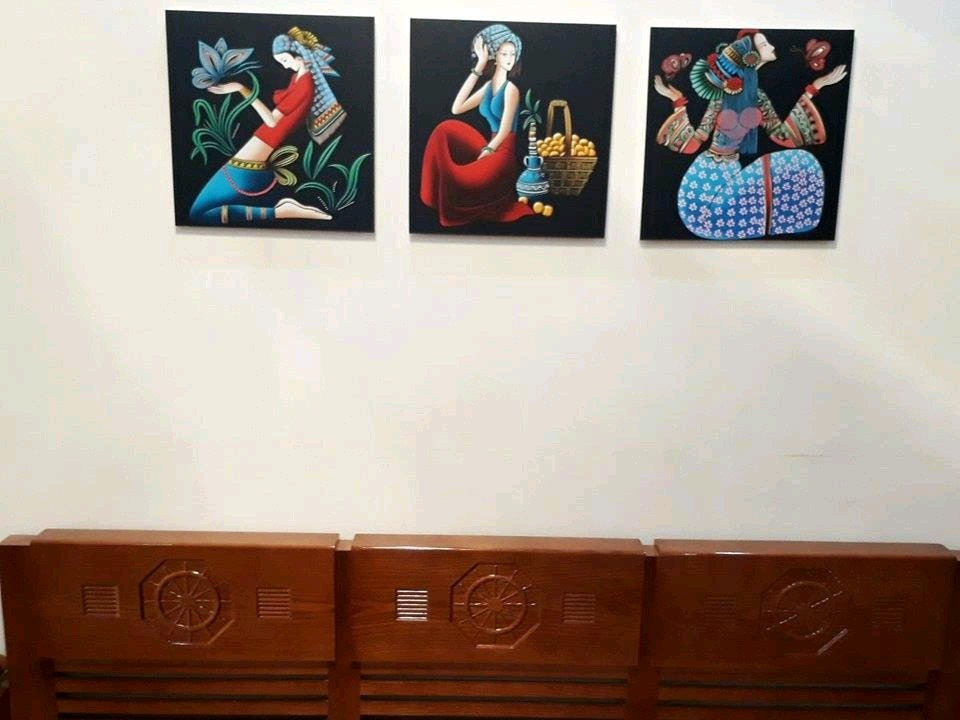 Lựa chọn tranh treo tường phòng ngủ TPHCM(8)