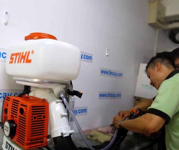 Đánh giá máy phun thuốc diệt muỗi, côn trùng và phòng dịch Stihl SR420 - Linh hoạt, bền bỉ, hiệu suất cao