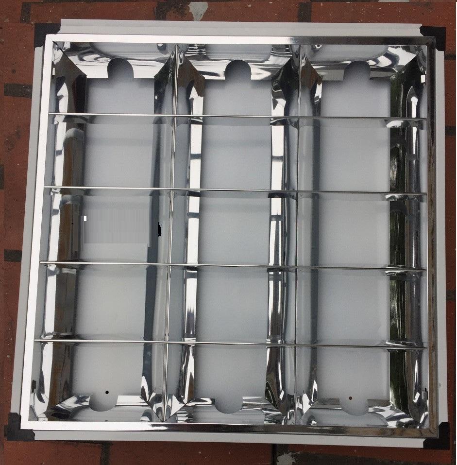 Máng đèn led – Máng âm trần 600×600
