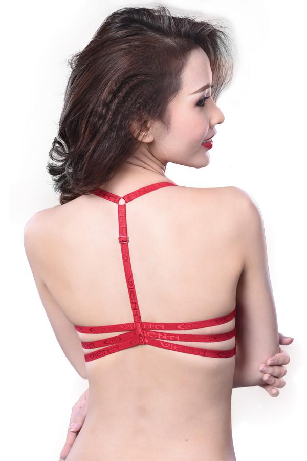 Giới thiệu mẫu áo ngực cài trước thiết kế dây lưng chữ Y Viena 641(4)