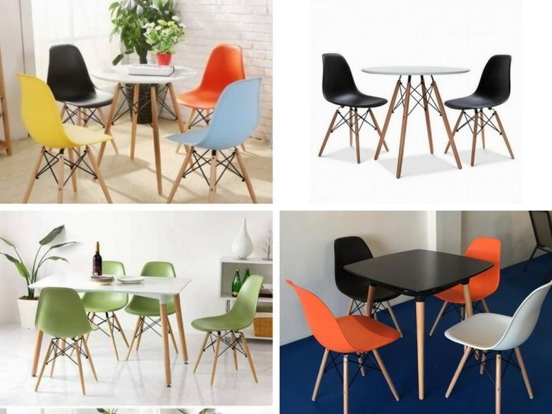 Có nên mua ghế nhựa đúc chân gỗ?