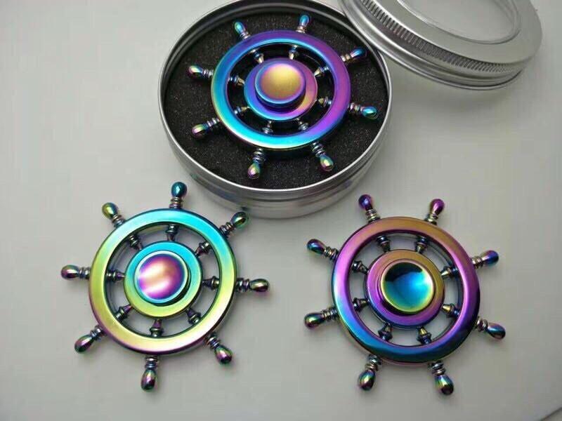 Cách chơi con quay fidget spinner cho người mới nhập môn(1)