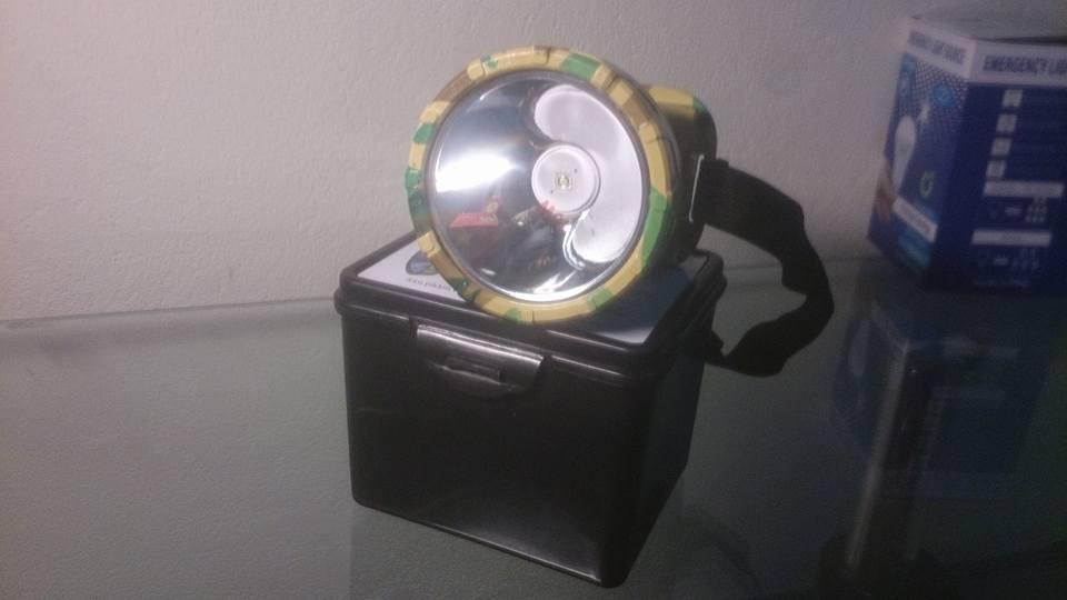 Đèn pin đội đầu siêu sáng chuyên dùng chạy bộ