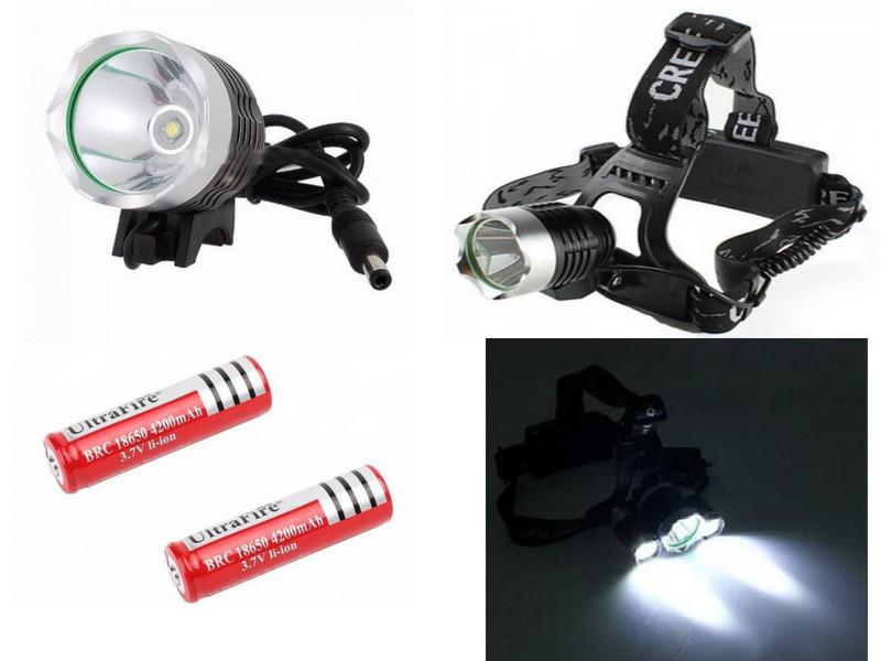 Đèn pin đội đầu siêu sáng High Power Headlamp Cree rất tiện dụng