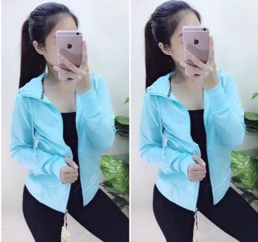Mẫu áo khoác nữ hot nhất hiện nay(4)