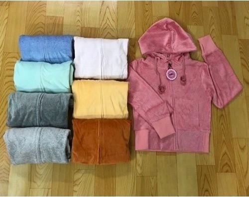 Áo khoác vải nhung