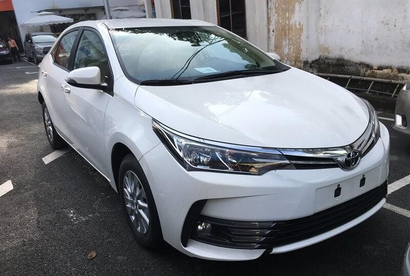 Thông số kỹ thuật Toyota Altis 2018
